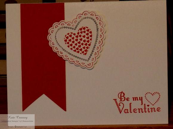 Large heart valentine