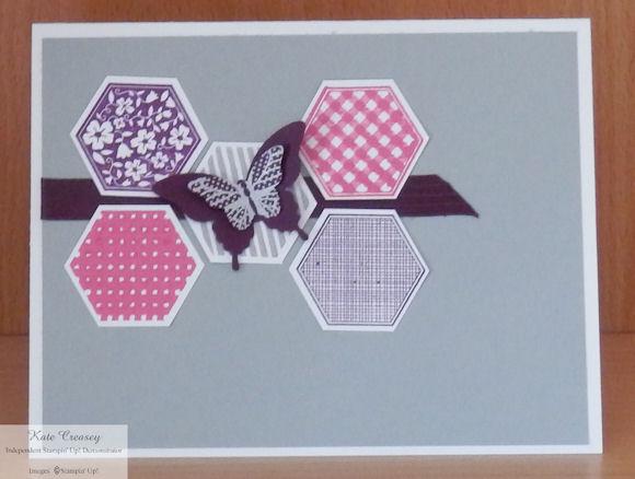 Six Sided Sampler Polka Dot Butterfly