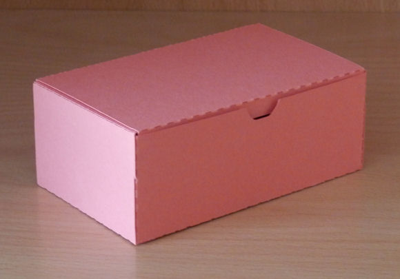 how to make a rectangle paper box with a lid