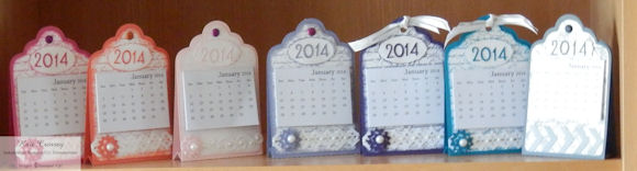 2014 Calendar floral