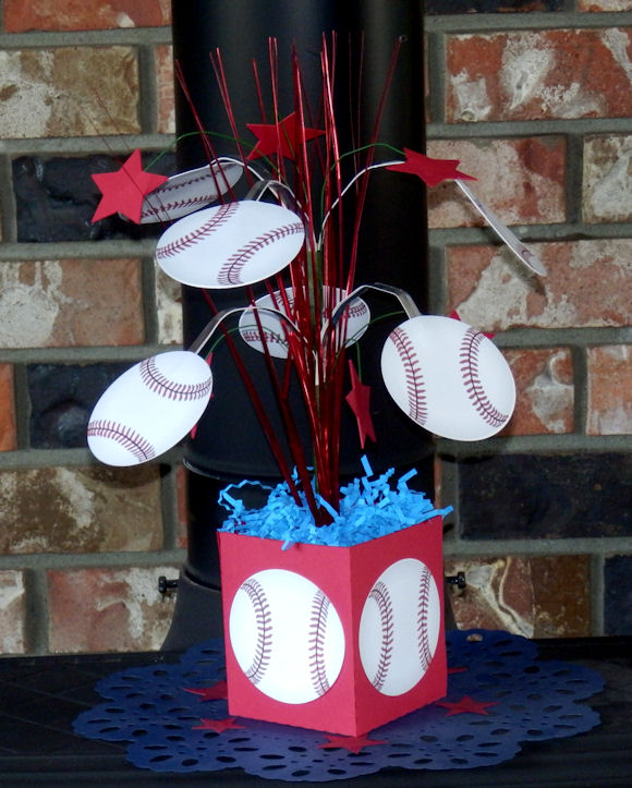 Baseball Centerpiece 1