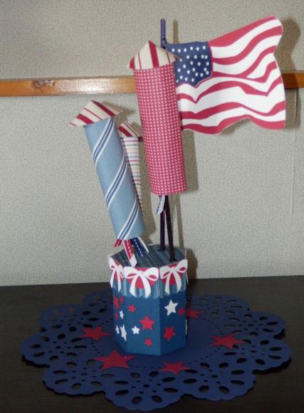Fireworks Pencil Holder 2