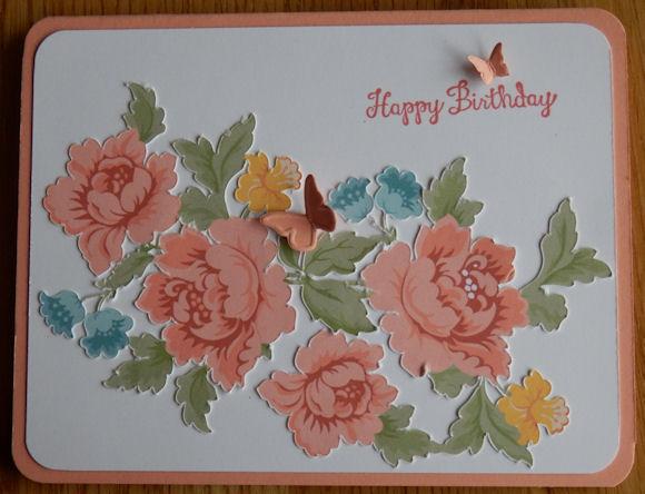 Vintage Roses Card