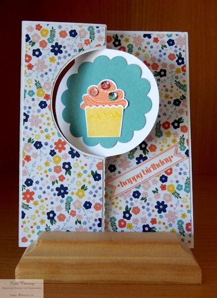 Circle Flip Birthday Card closed