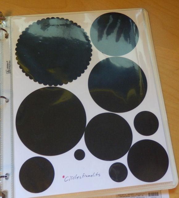 Circles page