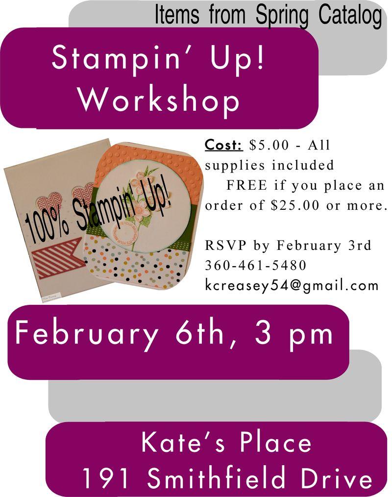 February workshop