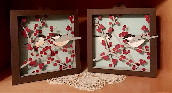 Winterberry Shadow Box
