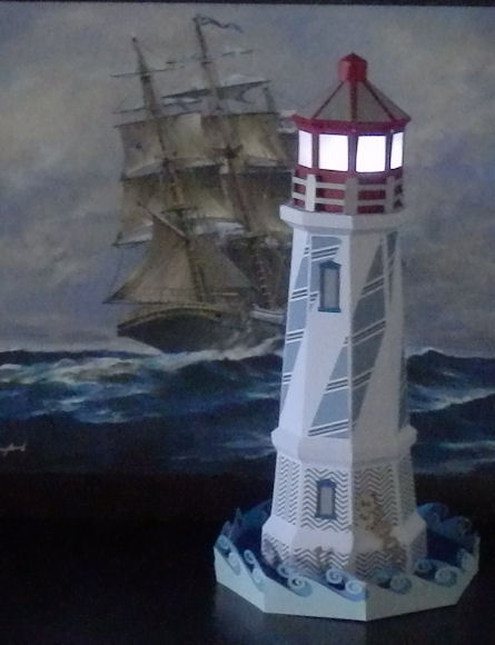 3D Lighthouse - Kate\'s Paper Creations