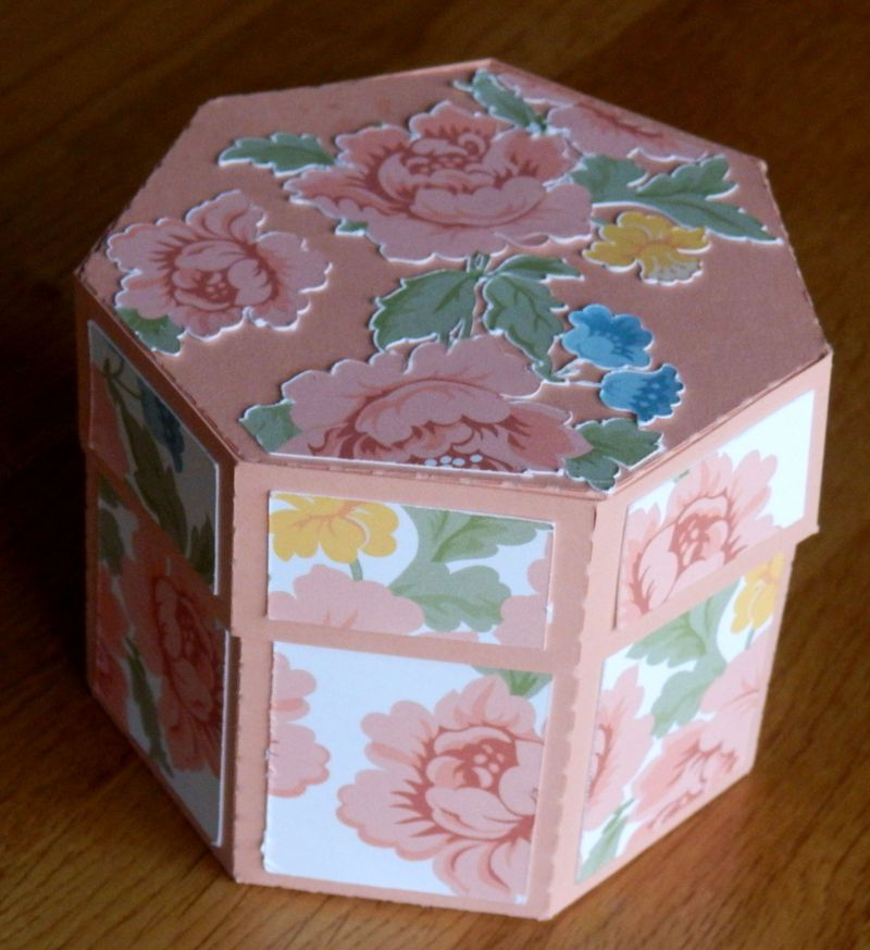 3D Hexagon Box