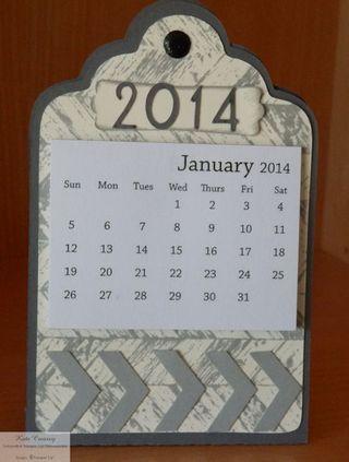2014 Calendar chevron