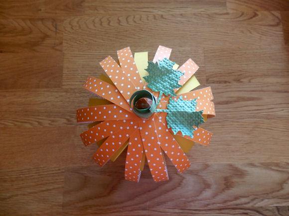 3D pumpkin top
