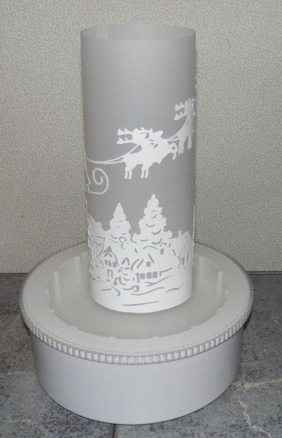 Santa Lantern 3