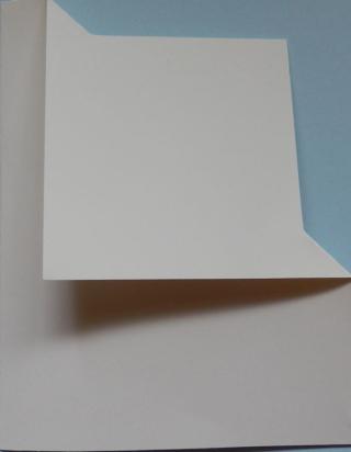 Corner fold card 11