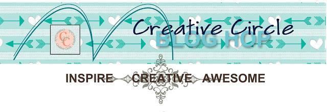 Creative circle footer pic