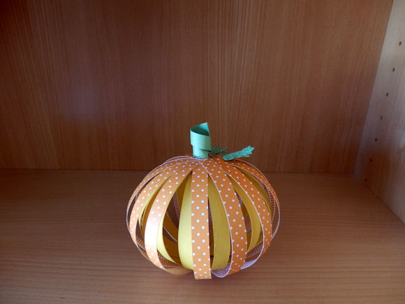 3D Pumpkin side