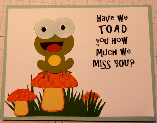 Toad We Miss You