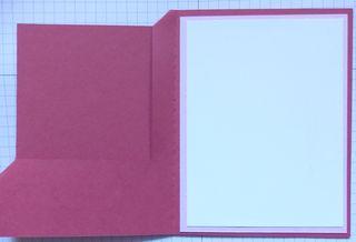 Cornerfold card