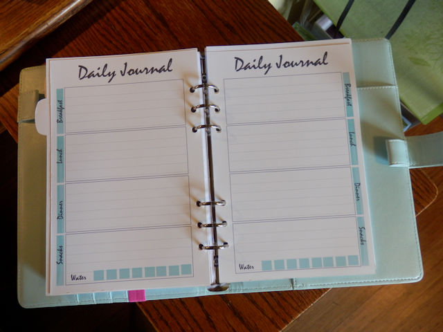 Planner journal pages