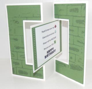 Minecraft card 1