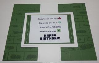 Minecraft card 3