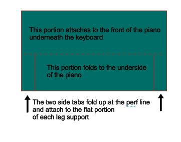 Piano extra piece