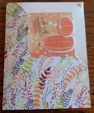 Corner fold card 12