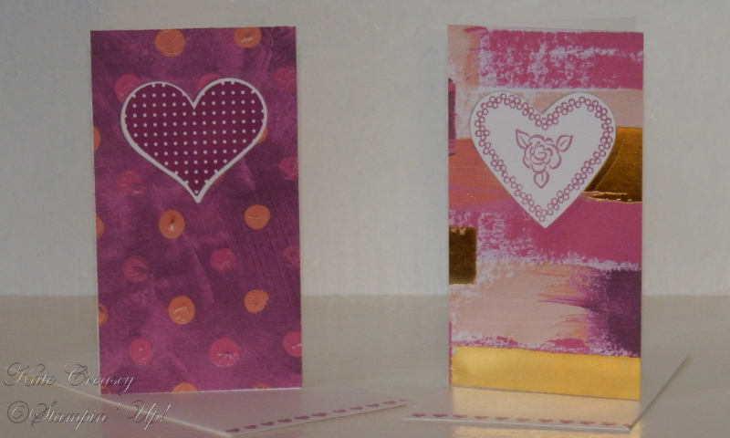 Sweet & Sassy Painted With Love Heart Happiness