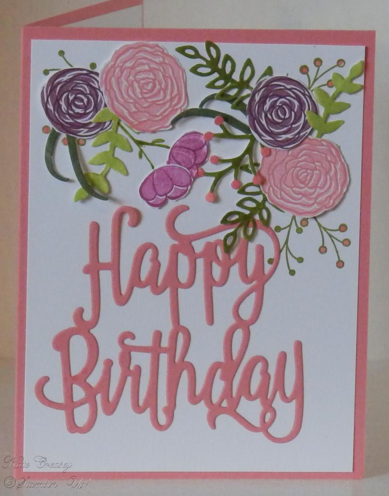 Happy Birthday Thinlits Cake Soiree'