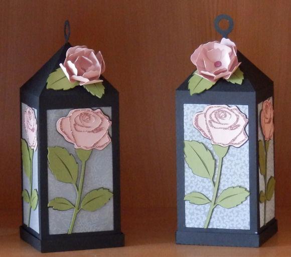 Rose Lantern 3D 1