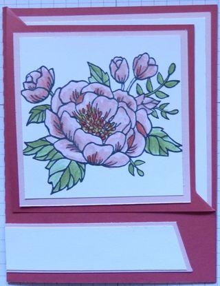 Corner fold card 1