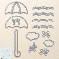 Umbrella Weather framelits