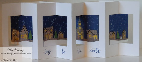 Lever fold card complete plain