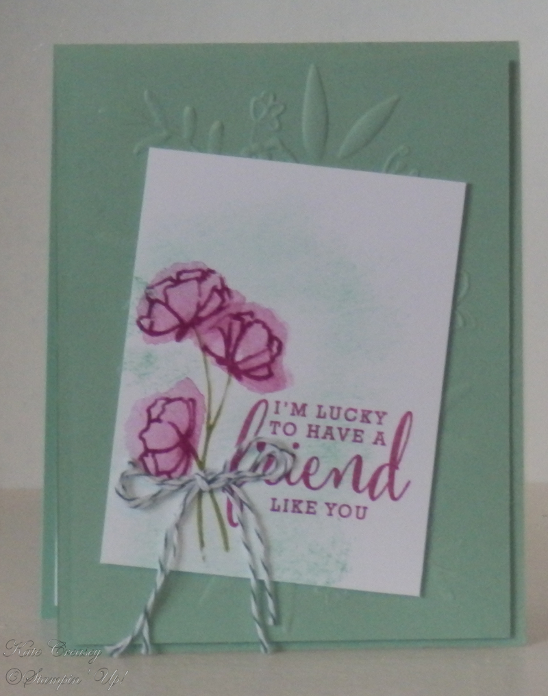 Share What You Love Lovely Floral Folder