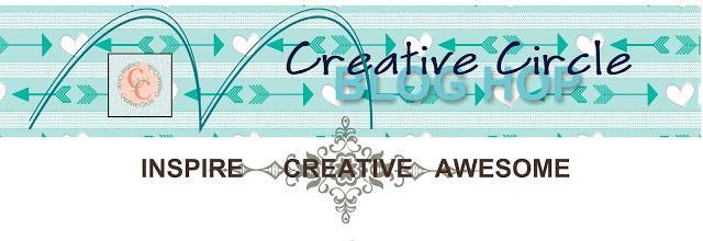 Creative circle footer pic