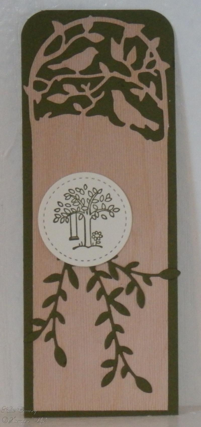 Botanical Tags Bookmark