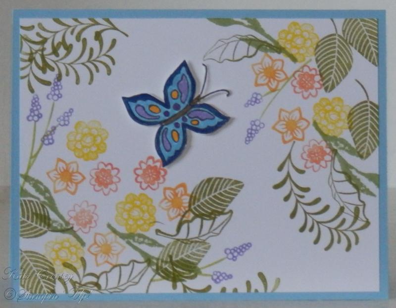 Balmy Blue Pop Of Petals