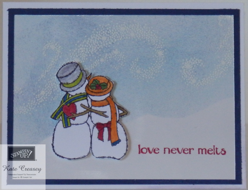 Spirited Snowmen in love
